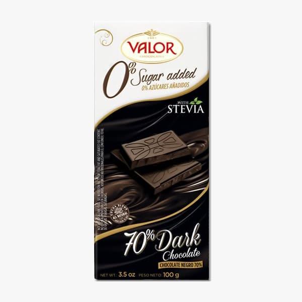 شکلات تلخ رژیمی