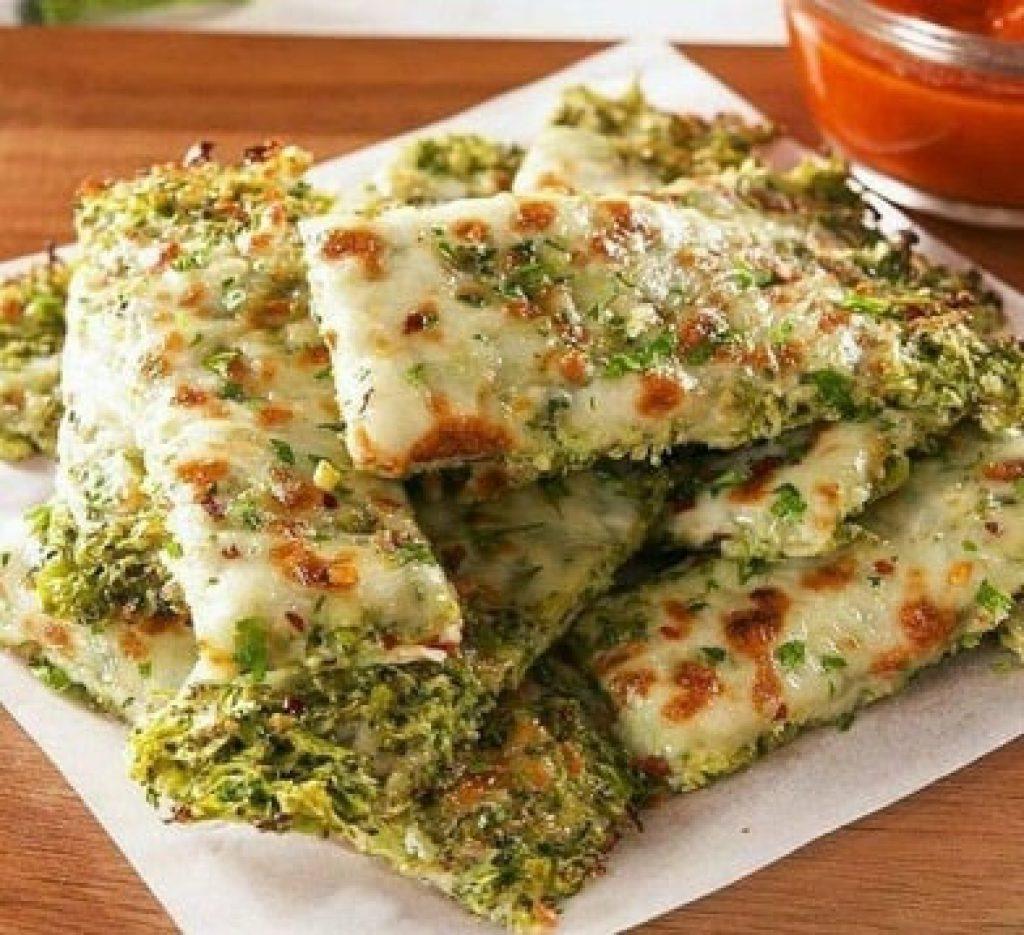 خوراک بروکلی با پنیر